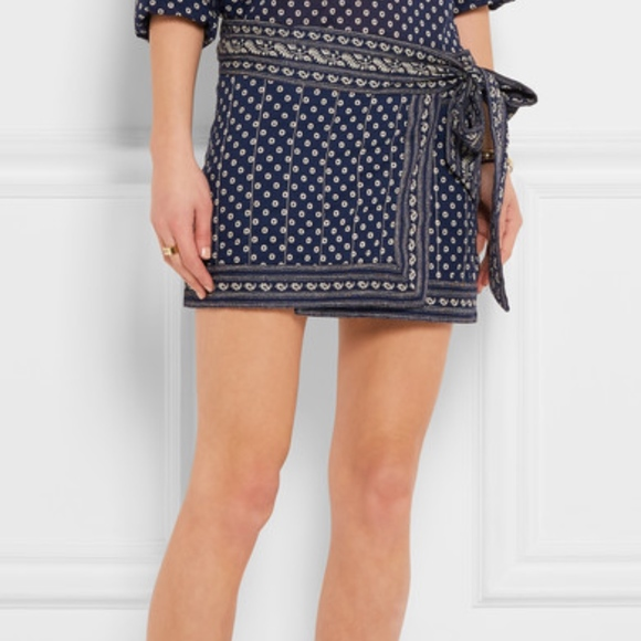 719c50571db Isabel Marant Dresses & Skirts - ISABEL MARANT ÉTOILE Lyne Wrap Mini Skirt